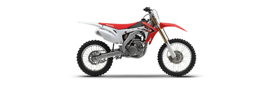 Honda CRF450X - Extreme Red