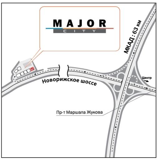 Схема остановки маршрутного