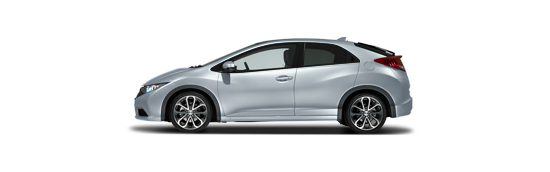 Honda Civic 5D - Alabaster Silver
