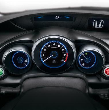 Honda Civic 5d панель приборов