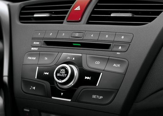 Honda Civic 5d встроенная магнитола