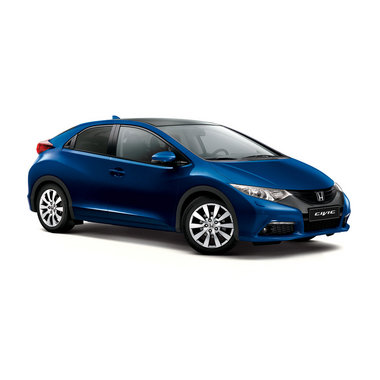 Хонда Цивик 5д синий