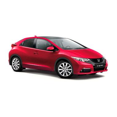 Honda Civic 5d красный