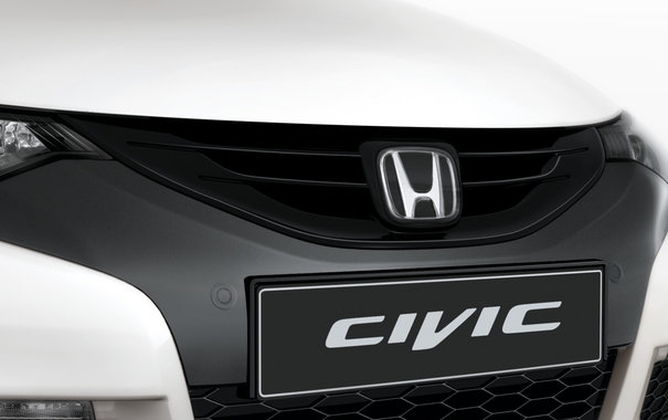 Honda Civic 5d решетка радиатора