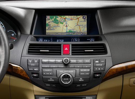Honda Crosstour встроенная навигационная система