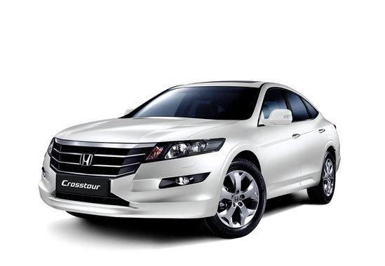 Хонда Кросстур белого цвета