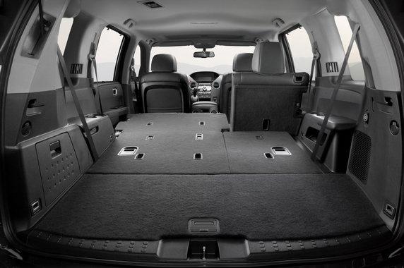Хонда Пилот складывающиеся задние сидения