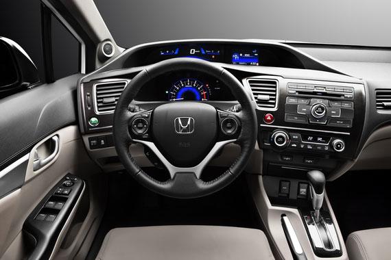 Honda Civic 4D приборная панель