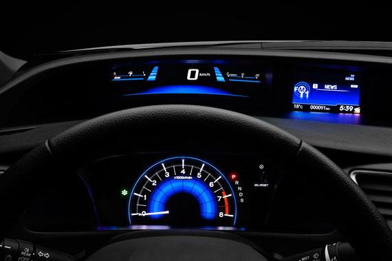 Хонда Цивик 4Д приборы