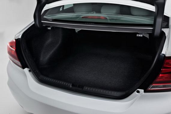Honda Civic 4D багажное отделение